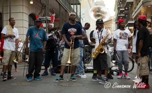 Bourbon Street Brass band