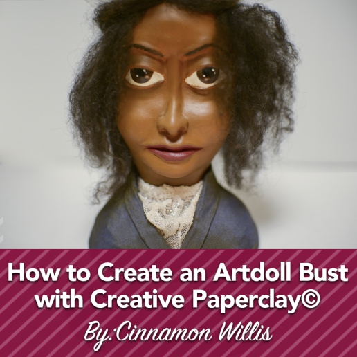 How To Create an Art Doll Bust_Instagram